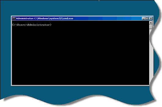 Core 2008 Command Prompt