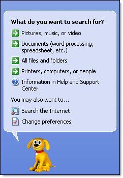 Windows Classic Search