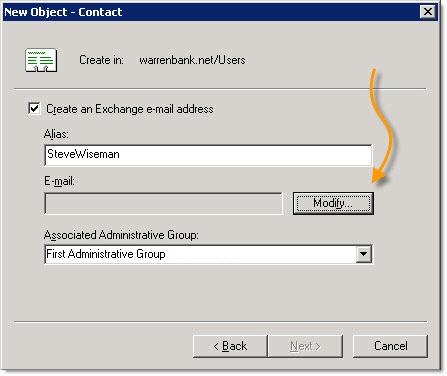 Contact Setttings