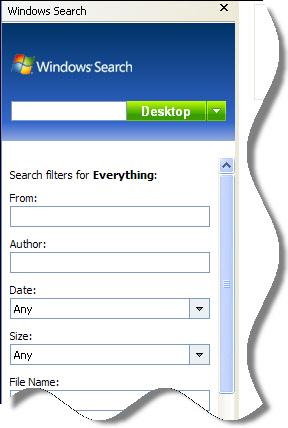 New Windows Search